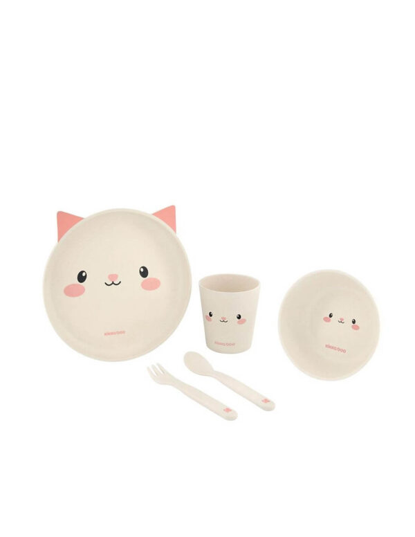 Σετ Φαγητού Bamboo Cat - Kikka Boo