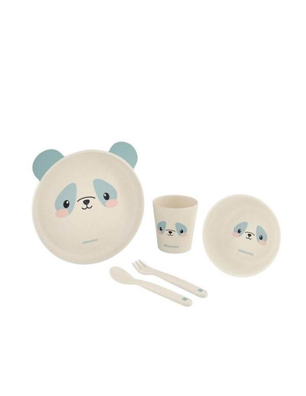 Σετ Φαγητού Bamboo Panda - Kikka Boo