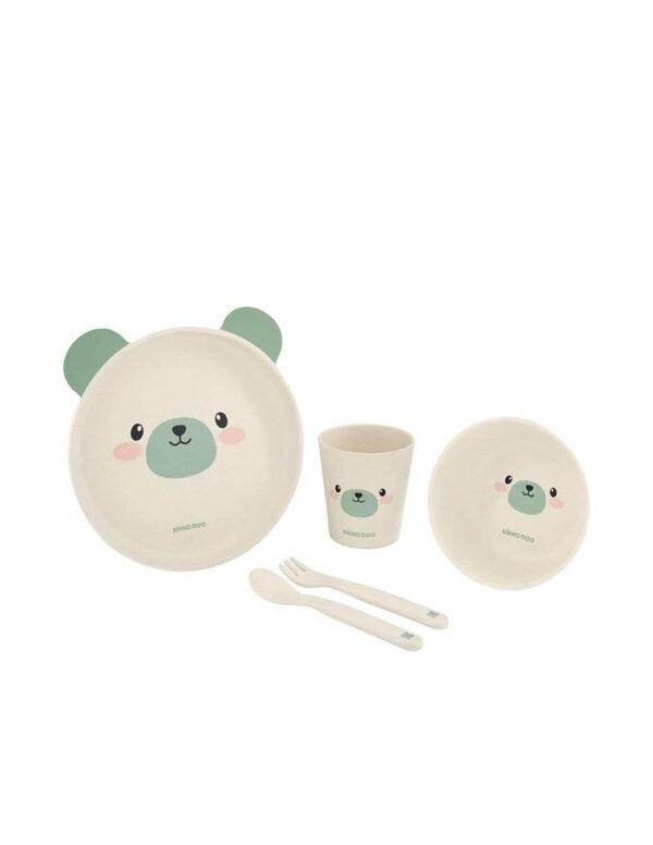 Σετ Φαγητού Bamboo Bear - Kikka Boo