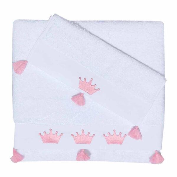 Σετ Βρεφικές Πετσέτες Princess