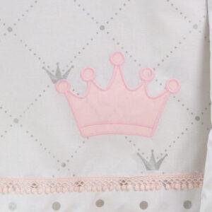 Σεντόνια Κούνιας Queen's Crown - ABO