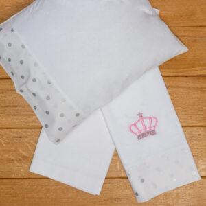 Βρεφικά Σεντόνια Λίκνου Queen's Crown - ABO