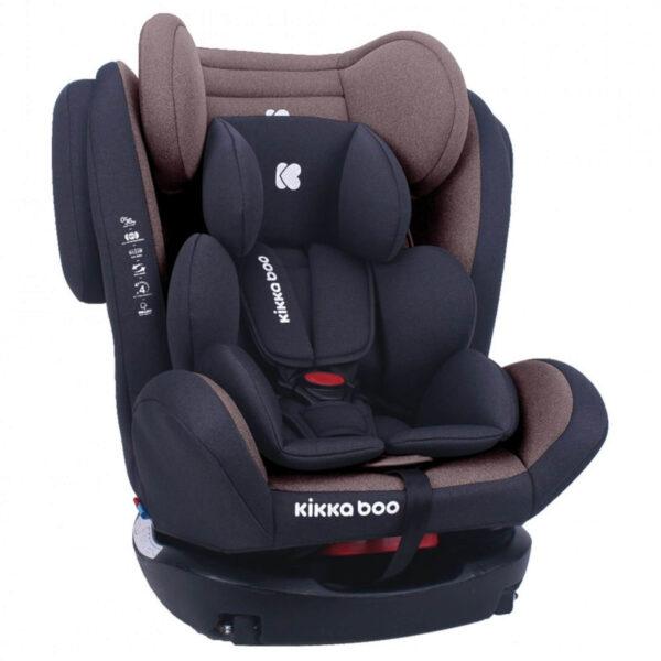 Kikka Boo Κάθισμα Αυτοκινήτου Isofix 4 Fix Brown