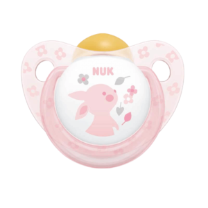 Nuk Πιπίλα Καουτσούκ Baby Rose Rabbit