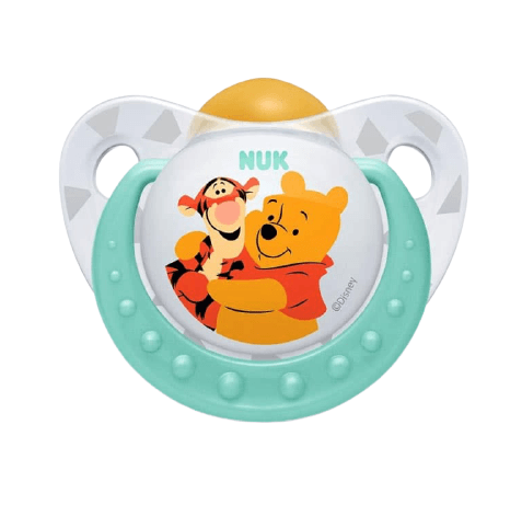 NUK Πιπίλα Καουτσούκ Disney Winnie & Tiger