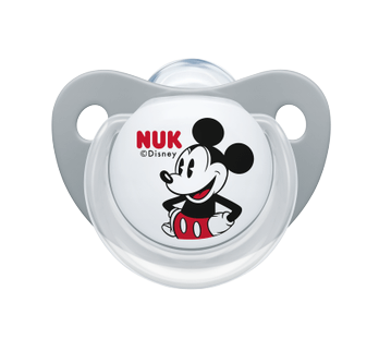 NUK Πιπίλα Σιλικόνης Disney Mickey & Mini