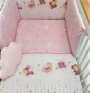 BABY STAR Σετ Προίκας Malu Butterfly (3 Τεμάχια)