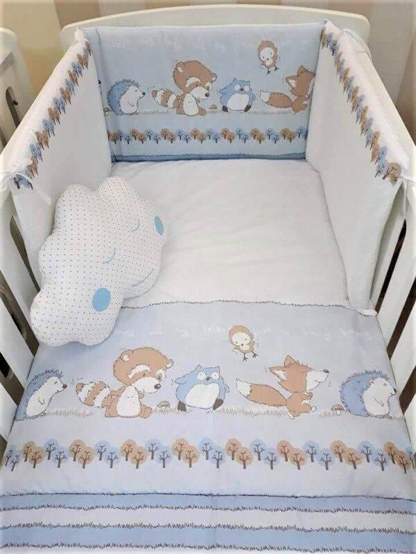 BABY STAR Σετ Προίκας Odette (3 Τεμάχια)