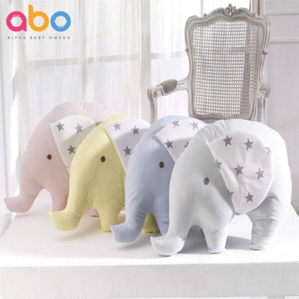 ABO Βρεφικό Διακοσμητικό Μαξιλάρι Elephant