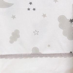 ABO Σετ Σεντόνια Κούνιας Moon (3 Τεμάχια)