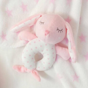 KIOKIDS Βρεφική Κουδουνίστρα Bunny