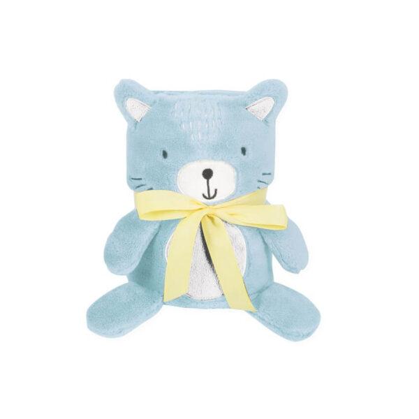 KIKKA BOO Κουβέρτα Αγκαλιάς 3D Toy-Blanket Cat