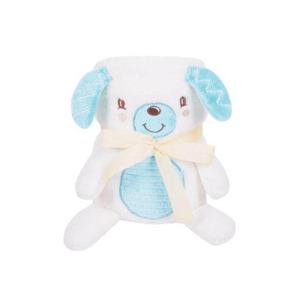 KIKKA BOO Κουβέρτα Αγκαλιάς 3D Toy-Blanket Puppy