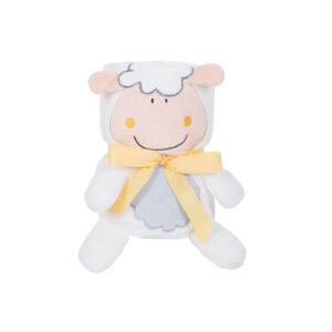 KIKKA BOO Κουβέρτα Αγκαλιάς 3D Toy-Blanket Sheep