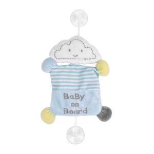 KIKKA BOO Baby On Board Βεντούζα Sleepy Cloud